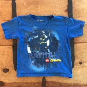 LEGO Batman Boys Blue Graphic Tee Shirt